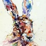 The Frame Gallery - Odiham - Watching Hare - Jake Winkle