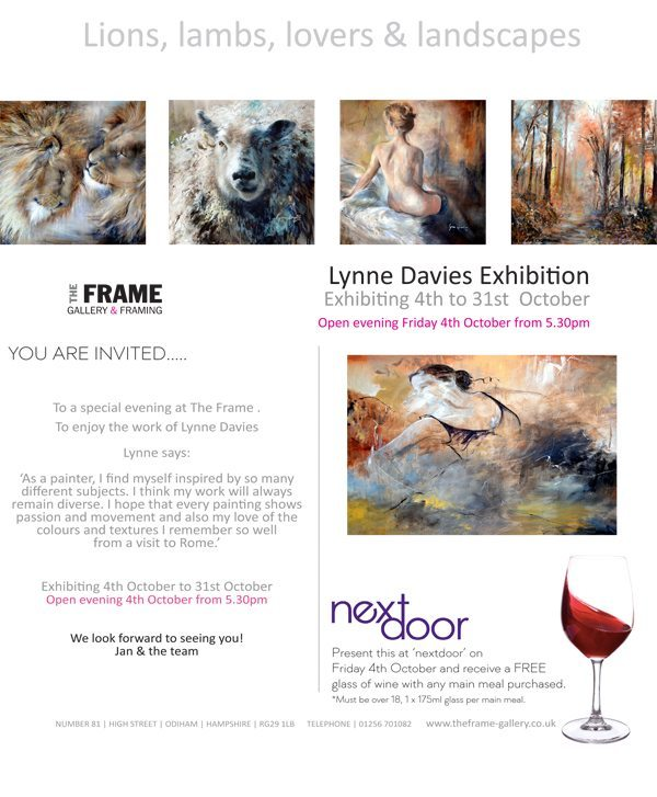 Lynne Davies Exhibition | Lions, Lambs, Lovers & Landscapes | The ...