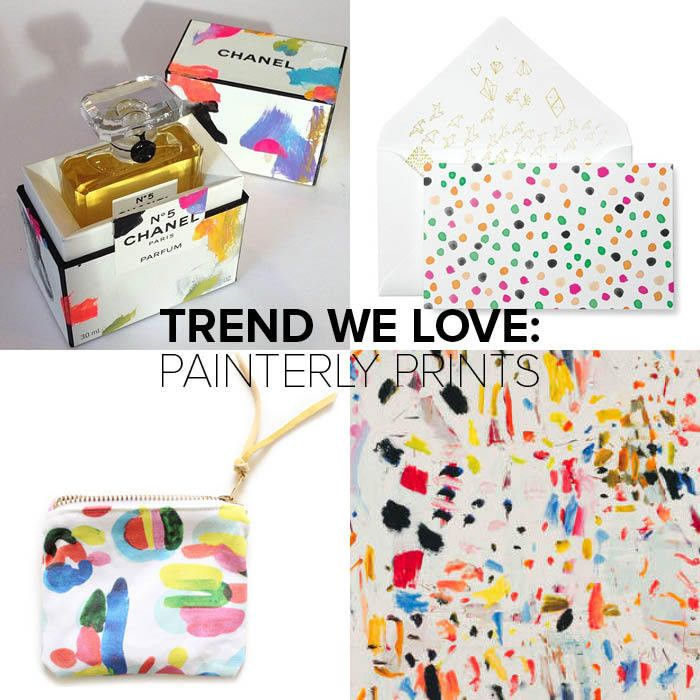 trend chanel painterly