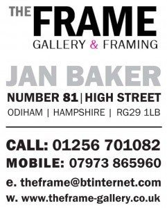 The Frame Odiham exhibits & sells originals artworks from local artists as well as unique & handmade giftware.