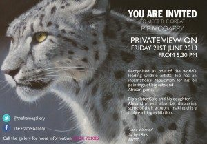 The Frame Odiham - Art Exhibition - The GREAT Pip McGarry Exhibition