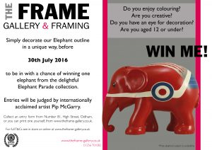 elephant parade competition at The Frame