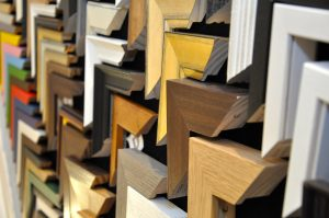 bespoke framing services at The Frame Gallery in Odiham