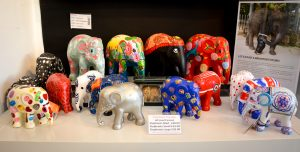 An Elephant Parade. Unique Birthday, Wedding and home gifts available at The Frame Odiham
