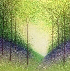 Woodland Vale, Sarah Pye, 100cm x 100cm