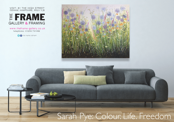Sarah Pye encourages your mind to wander at The Frame – 1st – 22nd May 2015.