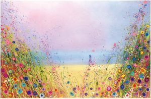 Yvonne Coomber Golden Days available at The Frame Gallery in Odiham.