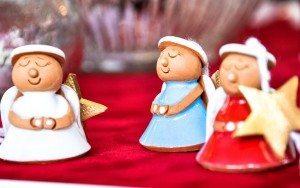 christmas angel tree decorations