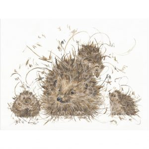 aaminah_snowdon_hedgie_and_the_hoglets_mounted
