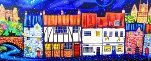 odiham canvas by RIcthie Collins at The Frame Gallery in Odiham.