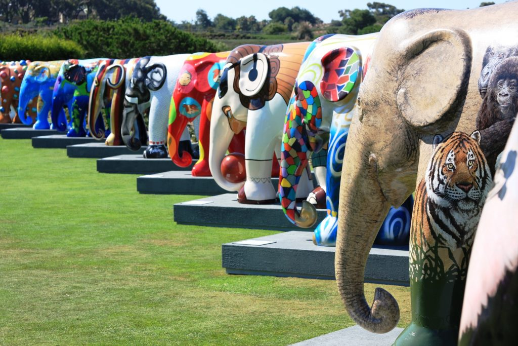Elephant Parade now available at The Frame, Odiham