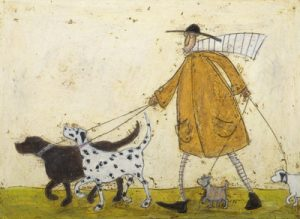 Sam Toft's work can be found at The Frame Gallery in Odiham