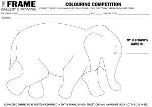 Win an elephant parade elephant at The Frame Odiham