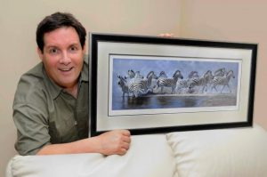 Pip Paintings Stolen from Marwell Zoo.