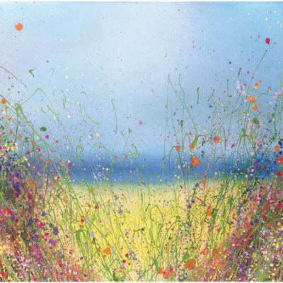 Summer Breeze by Yvonne Coomber avialable at The Frame Gallery in Odiham.