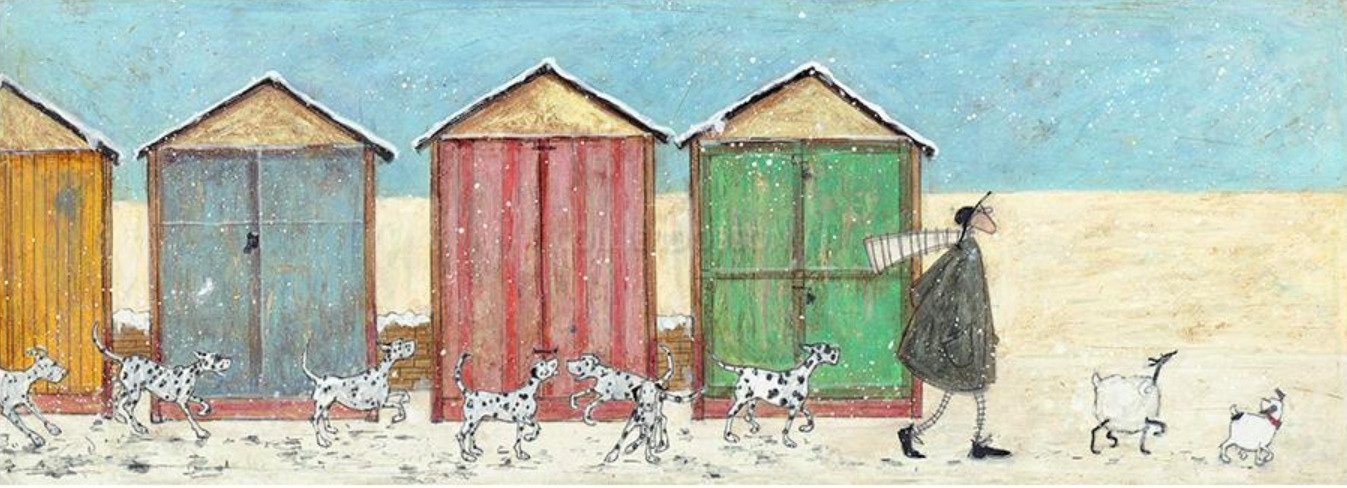 Spots N FLakes by Sam Toft available at The frame Gallery in Odham.