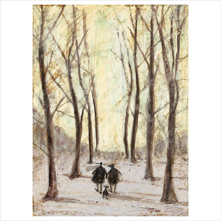 The Best of Days by Sam Toft available at The Frame Gallery in Odiham.