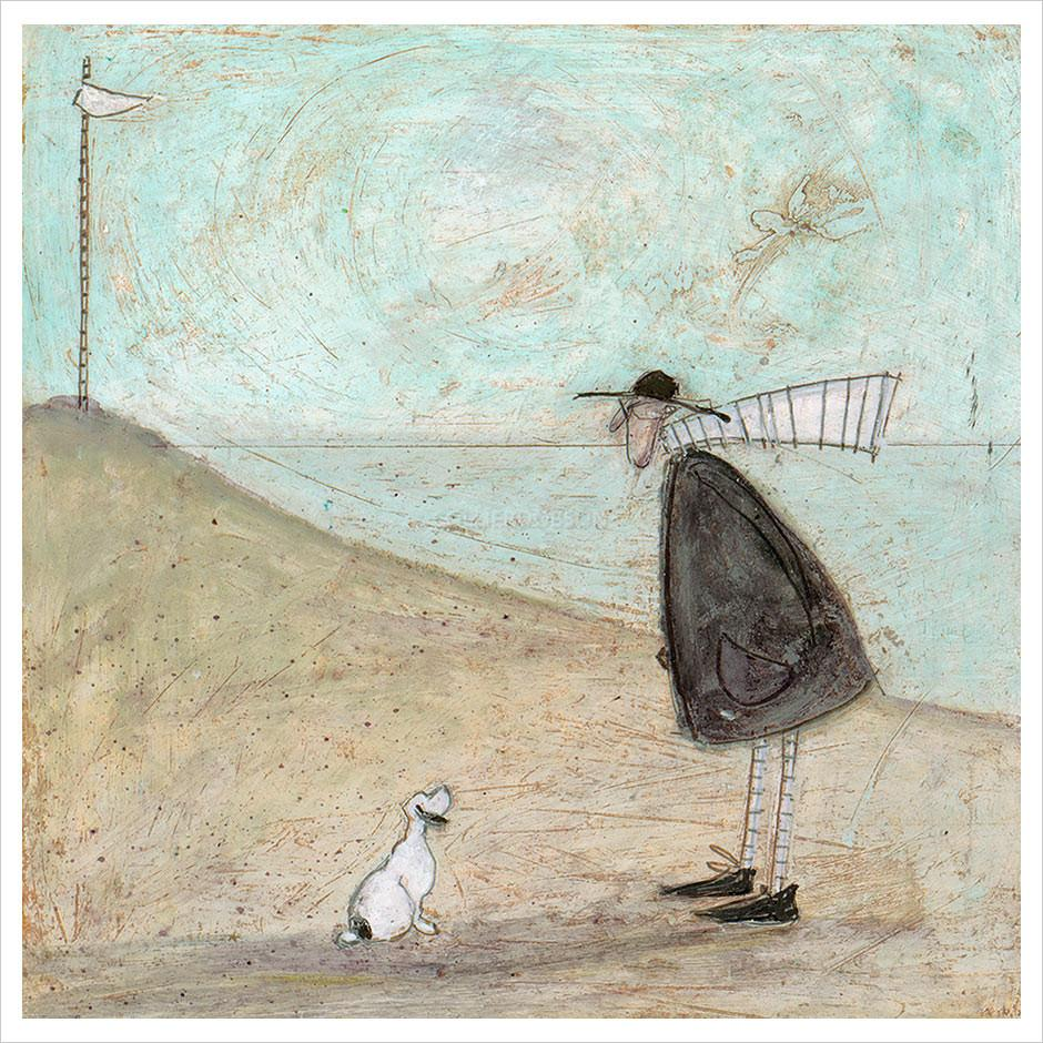 Sam Toft prints available at The Frame Gallery Odiham.