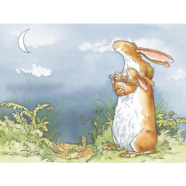 I Love You Right Up To The Moon' - Anita Jeram (print) Buy Gifts Online  From The Frame Gallery