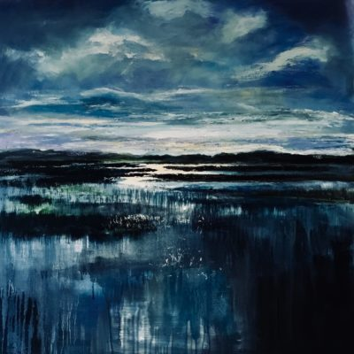 """Shallows & Light"" Oil on canvas 76cm x 76cm unframed £595. Available at The Frame Gallery in Odiham."