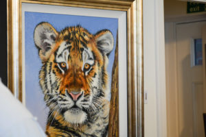 After the remoulding and restoration of a frame is complete, the artwork can be enjoyed once again knowing that the frame can complement the painting both structurally and aesthetically. Click to find out more.